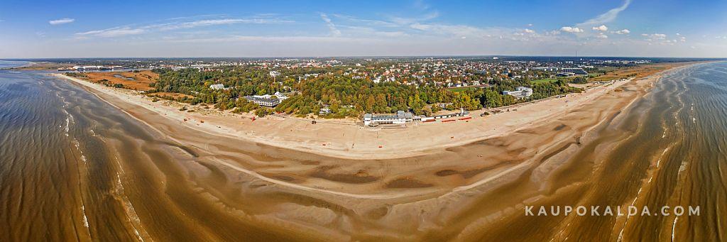 Pärnu ranna panoraam