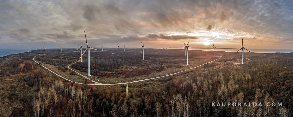 Dramaatiline Pakri poolsaar ja tuulepark