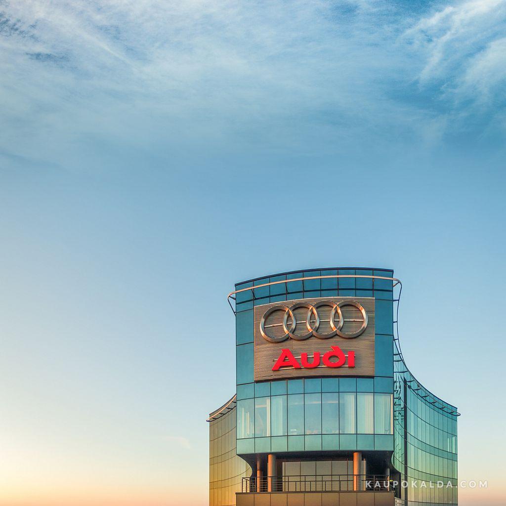 Audi maja ruut