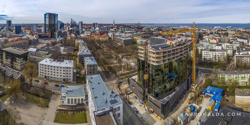 Hiltoni ehitus, kevad 2015