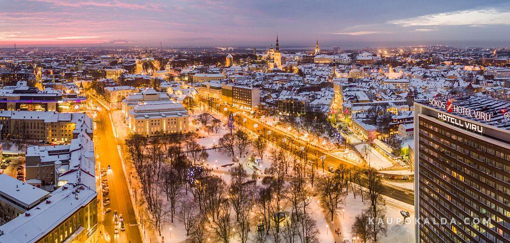 Talveöine Tallinn