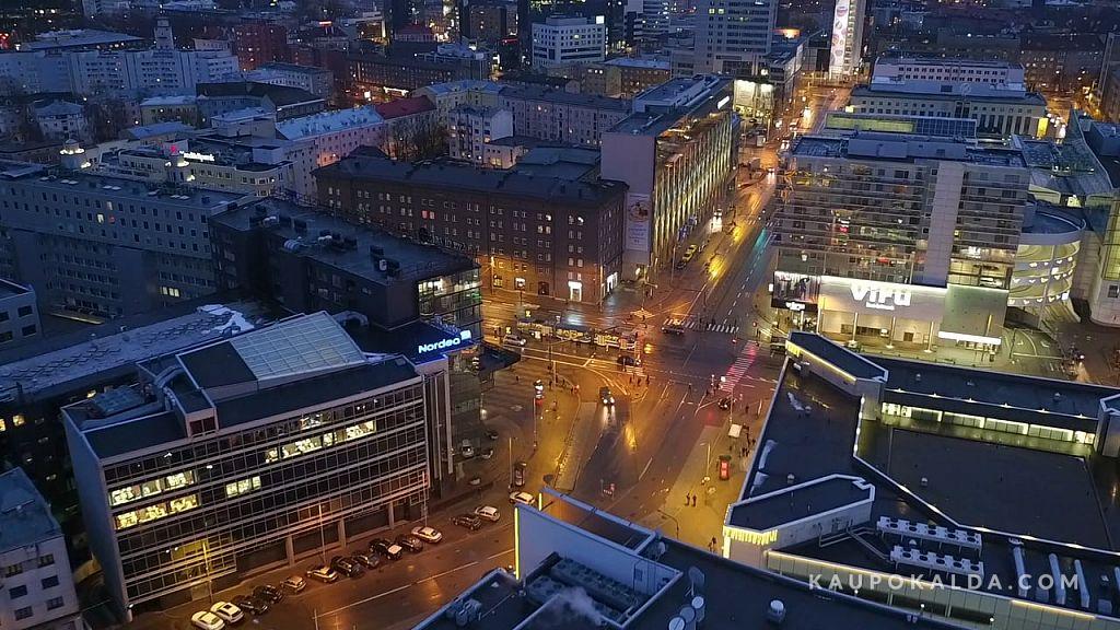 AEROVIDEO: Öine Tallinn - Vanalinn Sadam Rotermann Viru keskus (7:11, FullHD 1080p)