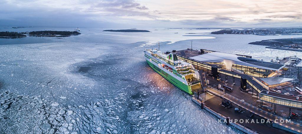 Tallink Helsinki Länsisatamas