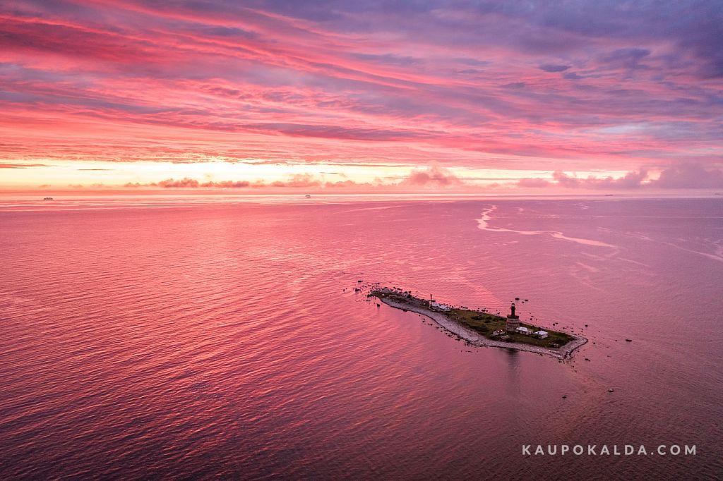 Flamingoloojang Keri saarel