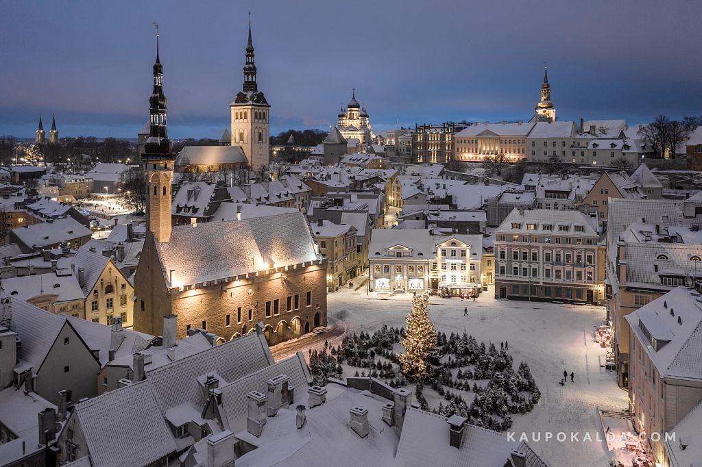 Talvituv vanalinn