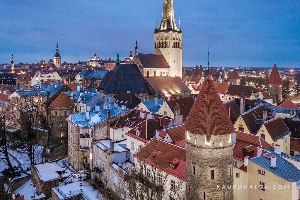 Põnevate tornide linn